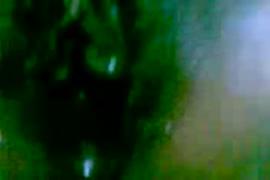 Chamacas calientes cogiendo en el río